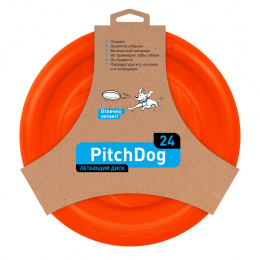 PitchDog 24' Dysk Frisbee dla psa Orange