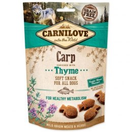 CARNILOVE SEMI MOIST SNACK CARP ENRICHED WITH THYME 200g