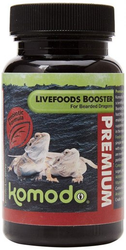 Komodo Premium Vegetable Booster for Adlut Bearded Dragons 75g