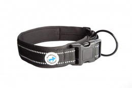 All For Dogs Black Obroża dla psa 35-46 cm