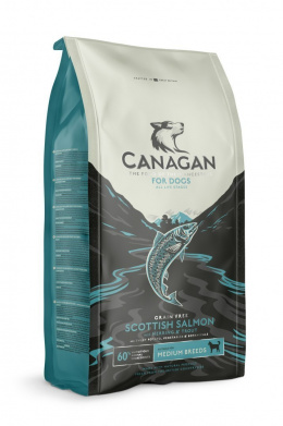 Canagan Scottish Salmon Dog Adult 12kg - łosoś