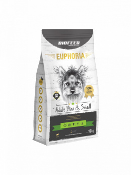 BIOFEED EUPHORIA Adult Dog Mini & Small Jagnięcina 2kg