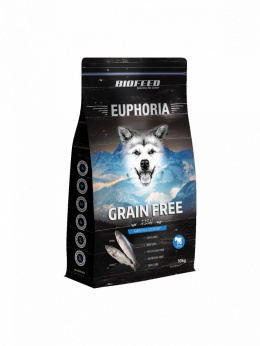 BioFeed EUPHORIA Junior Dog Grain Free 2kg Fish