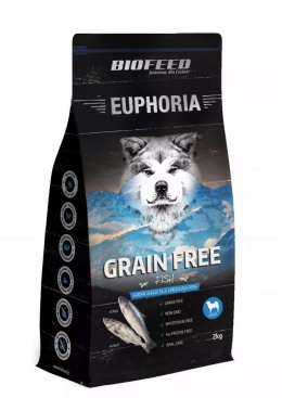 BioFeed EUPHORIA Dog Grain Free 500g Fish